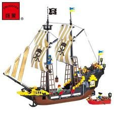ENLIGHTEN Pirates of the Caribbean The Adventure Boat Blocks Minifigures Toy ew