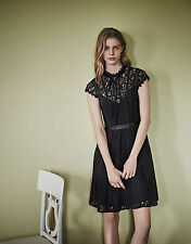 New MONSOON Black Lace Roxana Vintage Cocktail Dress Size 14 BNWT £99 Sold Out