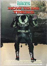 PERFORMANCE BIKE MAGAZINE : HOW TO DO TRICKS motor cycles   1992  fi