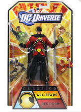 "Mattel DC  Comics Universe Legends 6"" RED ROBIN figure boxed RARE batman justice"