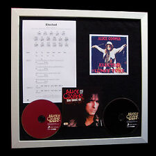ALICE COOPER Elected LTD CD GALLERY QUALITY FRAMED DISPLAY+EXPRESS GLOBAL SHIP