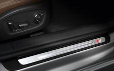 4x Audi S-line door sill sticker Emblem Logo A6 A3 A4 A8 Q7 Q5 RS S TT