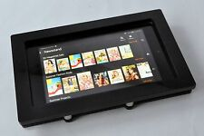 Kindle Fire HD 6 Anti-Theft Black Wall Mount Kit for Kiosk, POS, Store, Show