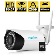 Reolink wireless IP kamera 4MP P2P Built-in 16GB sd 4X Optical Zoom Onvif webcam