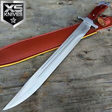 "18"" FULL TANG RAMBO SWORD MACHETE TACTICAL SURVIVAL HUNTING FIXED BLADE KNIFE"