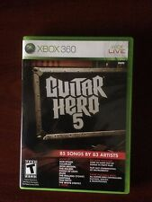 Guitar Hero 5   - Xbox 360 Game