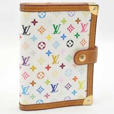 Authentic  Louis Vuitton Multicolor Agenda PM Day Planner Cover R20896 #S2264