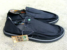Sanuk Men's Pick Pocket - Black - 11