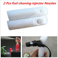 2 Pcs Car SUV Diesel Injection Cleaner Adapter Fuel Injector Nozzle Washing Tool