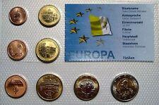 VATICANO 2006 SERIE COMPLETA EUROS EN PRUEBA 3,88 € 8 MONEDAS