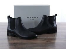 NEW Cole Haan Landsman Bootie Black Women's 8.5 MED leather Ankle Boots W06488