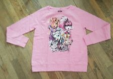 Girls SZ 14/16 Monster High Raglan Top/Shirt~Pink~NWOT~