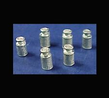 HO/HOn3 WISEMAN MODEL SERVICES DETAIL PARTS #HO128 SMALL MILK CANS