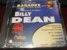CHARTBUSTER 6+6 KARAOKE DISC 20493 BILLY DEAN VOL 2 CD+G COUNTRY MULTIPLEX
