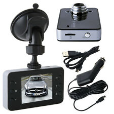 "2.4"" LCD HD Camera Car Vehicle DVR Cam Dash Video Recorder Rearview Mirror Taxi"