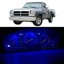 Full Kit Instrument Dash Blue LED Lights for 1990-1993 Dodge Ram D150 D250 D350