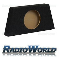"10 ""MDF BOX SUB SUBWOOFER Enclosure BASS bassofondo SLIM vuoto Enclosure NERO"