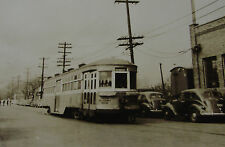 USA366 - AKRON TRANSPORTATION Company - TROLLEY CAR No200 PHOTO - Ohio USA