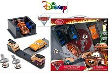 NEW Disney Store CARS 2 Cars Key Charger Tokyo Play Set Lights Launcher NIB
