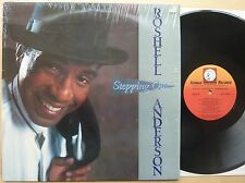 ROSHELL ANDERSON – STEPPING OUT – US ICHIBAN LP (1990)  NM