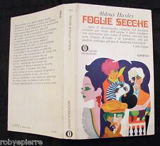 Foglie secche Aldous Huxley 1° edizione Oscar Mondadori 1969 n 237 come nuovo
