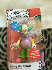 The simpsons 25 years   Krusty the clown talking  6 inch  figure  set