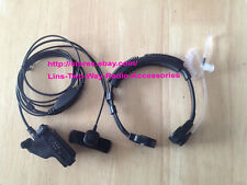 Military Throat Mic Headset/Earpiece for Motorola XTS2250 XTS2500 XTS3000 radio