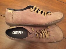 Camper Peu Grey Leather Shoes Size 40