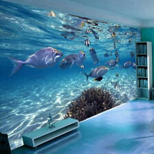 3D Ocean World Wallpaper Roll Modern Mural TV Background Home Decor