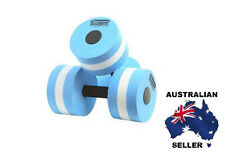 Water Aerobics Dumbbells x 2  water fitness MEDIUM resistance Pool 6013 NEW