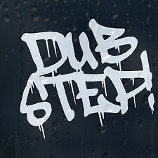 Funny Dub Step Car Or Laptop Decal Vinyl Sticker For Window Panel Bumper