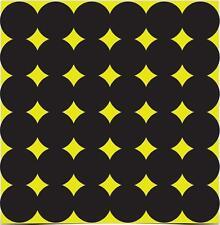 """15 Birchwood Casey (432) 1"""" Shoot-N-C Targets Spots Self Adhesive Repair Pasters"""