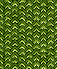 Fabric #2446, Green Chevron, Geometric Jason Yenter ITB, Sold by 1/2 Yard