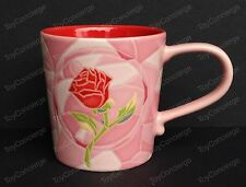 DISNEY STORE Mug ART OF BELLE 2016 ROSE Ceramic Cup Beauty and Beast 10 oz NEW