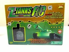 Z Tanks Atomic Toys Remote Micro Infra Red Battle Tanks 1:72 NIB