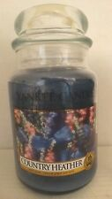 Yankee Candle Country Heather Large Jar Candle 22 oz NEW