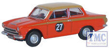 76COR1004 Oxford Diecast 1:76 Scale OO Gauge Ford Cortina MKI Red/Gold