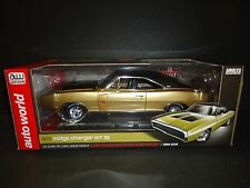 Auto World Dodge Charger R/T SE 1970 Gold 1/18 Limited Edition