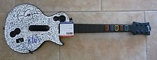 Alice Cooper Signed Autographed Guitar Hero PS3 X-Box 360 Guitar PSA Certified