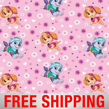"Fleece Fabric Paw Patrol 60"" Wide Style 4048 Free Shipping"
