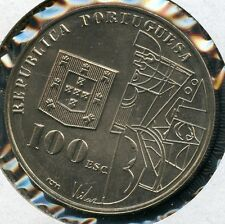 PORTUGAL 1987  100  ESCUDO   KM-644   COIN YOU DO THE GRADING HAVE FUN