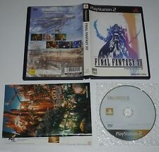 Final Fantasy XII - Jeu Playstation 2  / Ps2 - Import Jap Japan