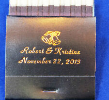 150 personalized matchbooks wedding favors bridal shower custom printed matches