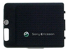GENUINE Sony Ericsson C702 Metallic Black Battery Cover
