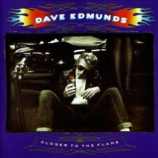 Dave Edmunds: Closer to the Flame CD 1990 Capitol Brian Setzer Memphis Horns VG