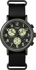 Timex Weekender Chrono Watch TW2P71500 , Nylon strap and Indiglo Night Light