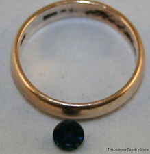 NATURAL BLUE SAPPHIRE LOOSE GEMSTONE 4.5MM FACETED ROUND 0.5CT GEM AAA SA19A