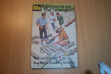 LADYBIRD BOOK 10 A ADVENTURE ON THE ISLAND 1966  2/6 PETER & JANE
