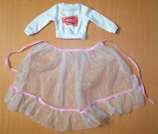 Original Shirt & Overskirt/Cape for 1980s Tomy Kimberly Doll - VGC