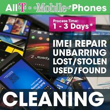 USA T-Mobile IMEI found Cleaning Service Barred iPhone 4 - 6 Un black.lst repair